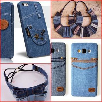Recycled Jeans Craft Ideas apk screenshot
