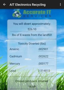 AIT Electronics Recycling apk screenshot
