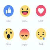 تفعيل ردود الفعل في الفيس بوك icon