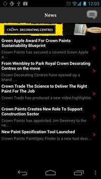 Crown Decorating Centres apk screenshot
