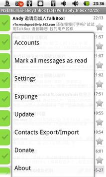 Pushmail apk screenshot