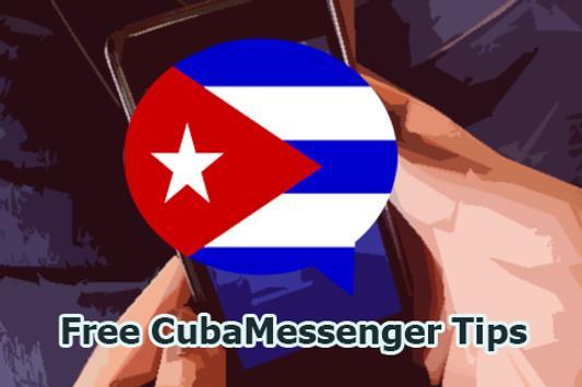 Free CubaMessenger Tips poster
