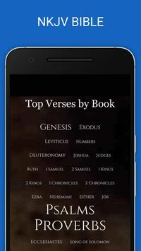 New King James Version Bible poster