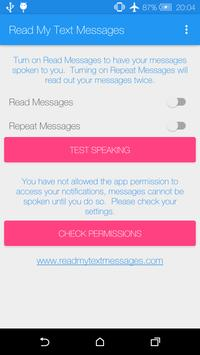 Read My Text Messages poster