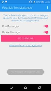 Read My Text Messages apk screenshot