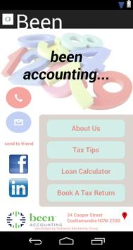 Been Accounting poster