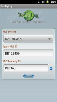 RealtyLog apk screenshot