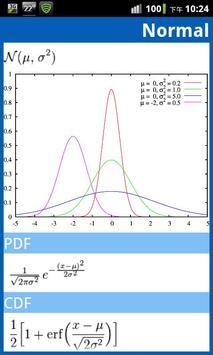 Statistical Distribution apk screenshot