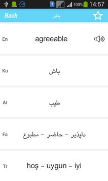 Rebin Dictionary - Kurdish apk screenshot
