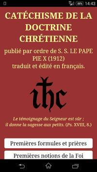 Catéchisme de Saint Pie X poster