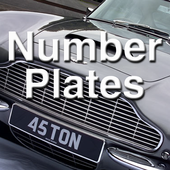 Reg Plates Number Plates App icon