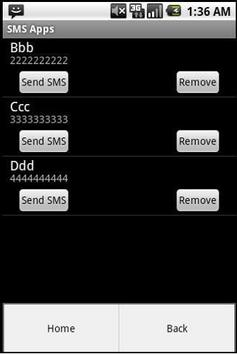 SMS Apps apk screenshot