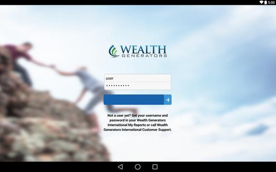 Wealth Generators apk screenshot