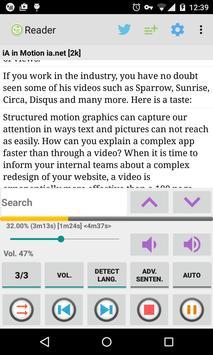 TalkText (Read Aloud) Berry apk screenshot