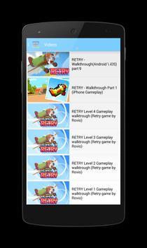 Retry Guide Tips Tricks apk screenshot