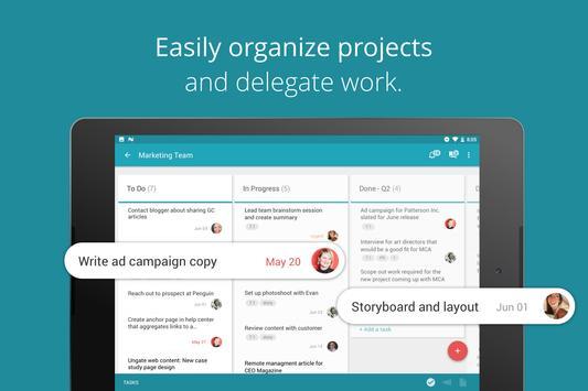 Redbooth - Project Management apk screenshot