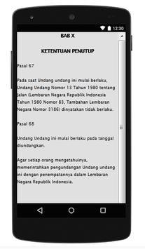 UU TENTANG JALAN apk screenshot