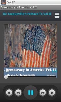 Democracy in America Vol II poster
