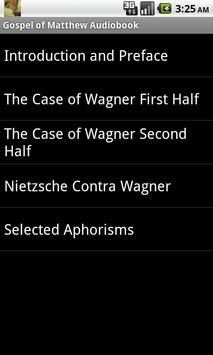 The Case of Wagner, Nietzsche apk screenshot