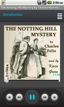 Notting Hill Mystery, The poster