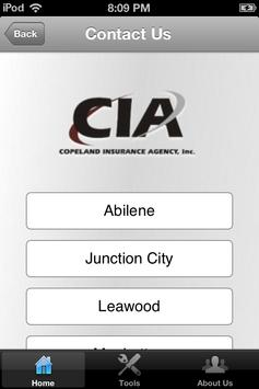 Copeland Agency Insurance apk screenshot