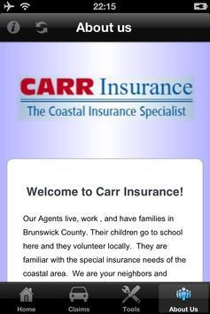 Carr Insurance apk screenshot