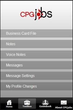 CPGjobs Mobile apk screenshot