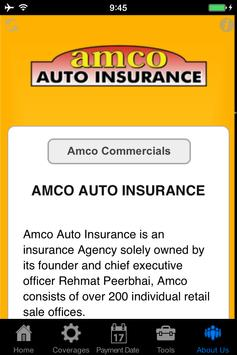 Amco Auto Insurance apk screenshot