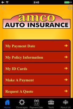 Amco Auto Insurance poster