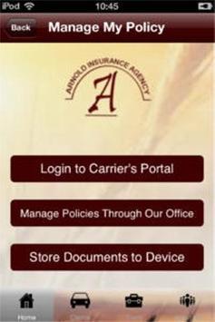 Arnold Insurance apk screenshot