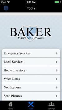 Baker Insurance Brokers poster