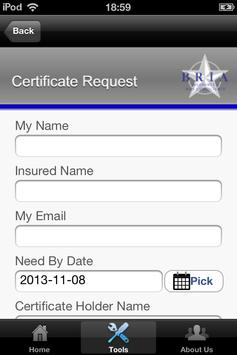 BRIA Insurance apk screenshot