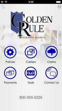 Golden Rule Insurance poster