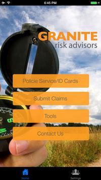 Granite Risk Advisors poster