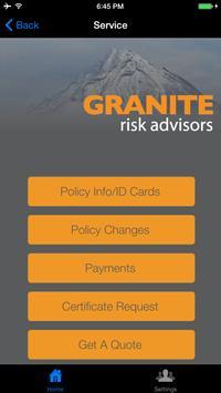 Granite Risk Advisors apk screenshot