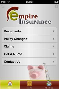 Empire Insurance poster