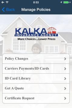 Kalka Insurance apk screenshot