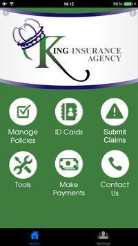 King Insurance poster