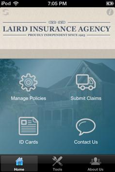 Laird Insurance poster