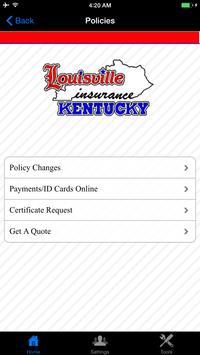 Louisville Kentucky Insurance apk screenshot