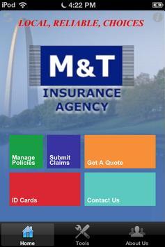 M&T Insurance poster