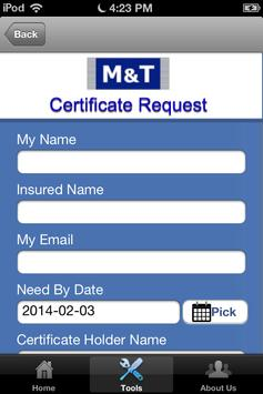 M&T Insurance apk screenshot