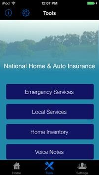 National Home & Auto Insurance poster