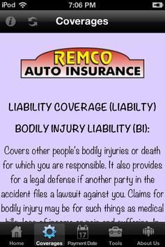 Remco Insurance apk screenshot