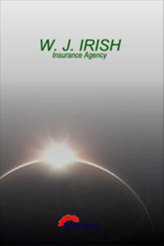WJ Irish Insurance poster