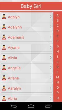Amarican Baby Name apk screenshot