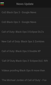 Guide for CoD Black Ops 3 apk screenshot