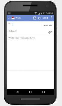 Rediffmail apk screenshot