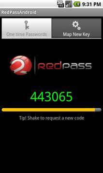 RedPass OTP poster