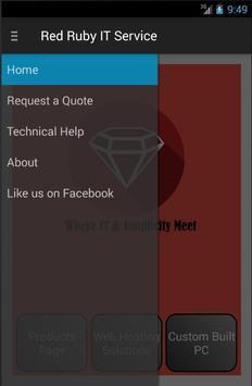 Red Ruby IT Service apk screenshot